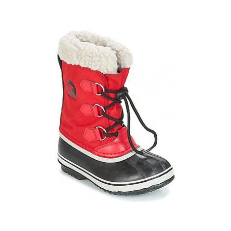 Sorel YOOT PAC™ NYLON girls's Children's Snow boots in Red