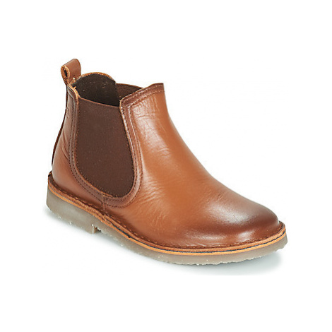 Citrouille et Compagnie JOVETTE boys's Children's Mid Boots in Brown