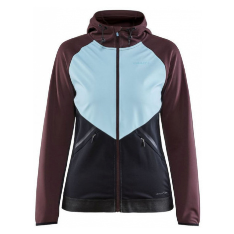 Craft GLIDE HOOD JACKET W - Women's softshell jacket