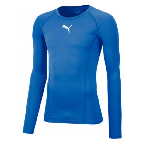 Puma LIGA BASELAYER TEE LS blue - Men's functional T-shirt
