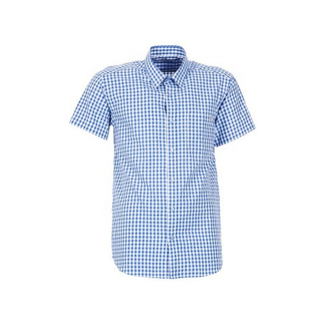 Casual Attitude ECARO men's Short sleeved Shirt in Blue