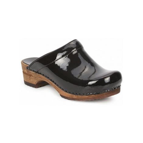 Sanita CLASSIC PATENT women's Clogs (Shoes) in Black