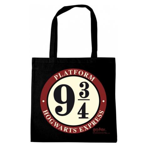 Harry Potter Platform 9 3/4 Cloth Bag black
