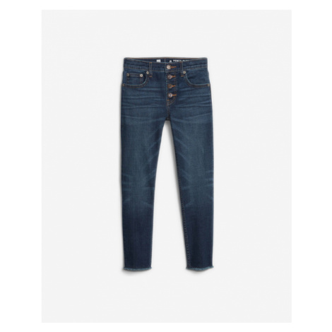 Blue girls' trousers and jeans