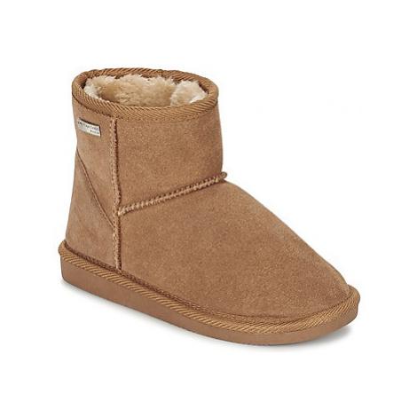 Les Tropéziennes par M Belarbi FLOCON girls's Children's Mid Boots in Brown