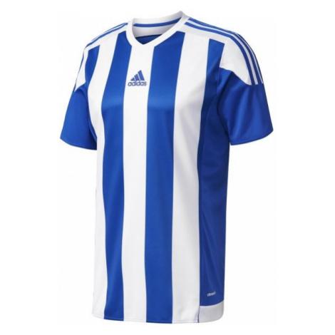 adidas STRIPED 15 JSY JR blue - Boys' football jersey