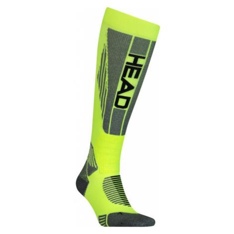 Head UNISEX RACER KNEEHIGH yellow - Racing ski socks