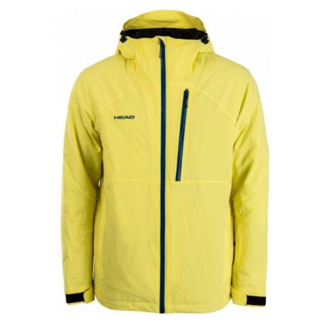 Head ONE MEN JACKET yellow - Men's winter jacket