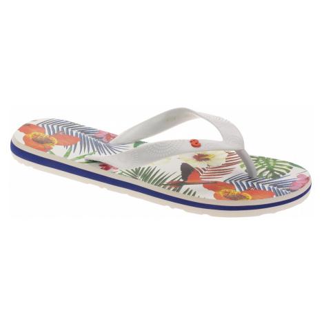 flip flops Desigual 19SSHF17/Flip Flop Tropical White - 1000/Blanco - women´s