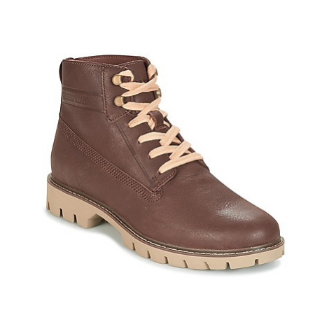 Caterpillar BASIS men's Mid Boots in Brown