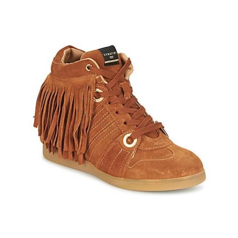Serafini MANHATTAN women's Shoes (High-top Trainers) in Brown
