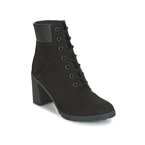 Timberland ALLINGTON 6IN LACE UP women's Low Ankle Boots in Black