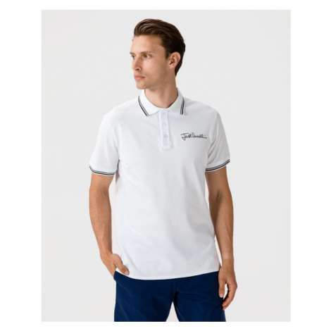 Just Cavalli Polo Shirt White