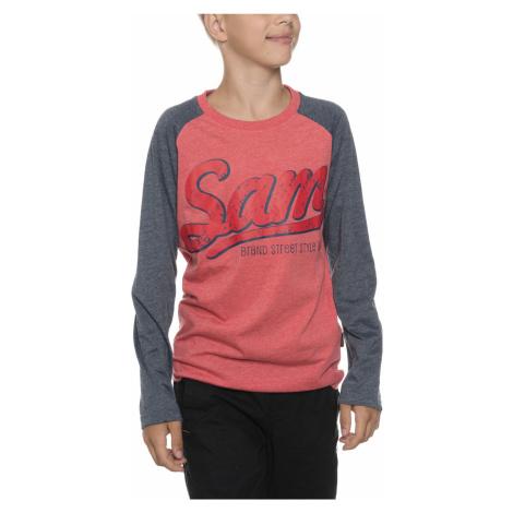 Sam 73 Kids T-shirt Red Grey