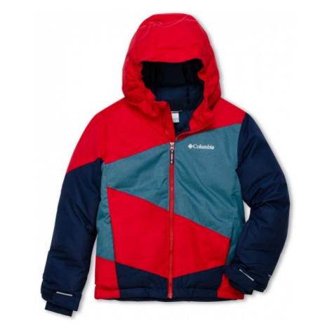 Columbia WILDSTAR JACKET red - Boys' winter jacket