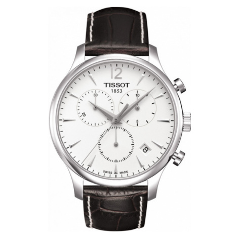 Mens Tissot Tradition Chronograph Watch T0636171603700