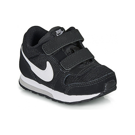 Nike MD RUNNER 2 TODDLER girls's Children's Shoes (Trainers) in Black