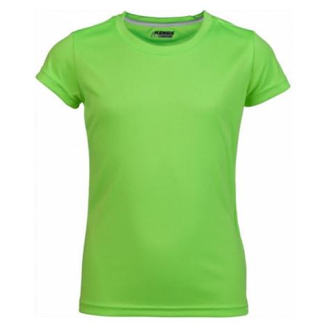 Kensis VINNI PINK green - Girls' sports T-shirt