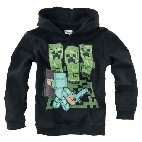Minecraft - - Kids Hooded Sweater - black
