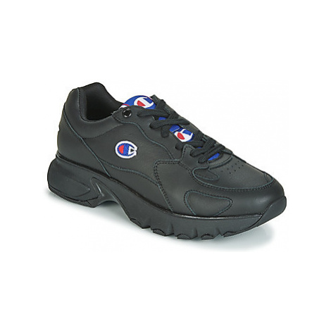 Champion CWA-1 LEATHER women's Shoes (Trainers) in Black