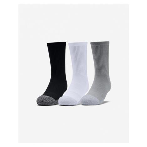 Under Armour Socks 3 pcs kids Black White Grey Colorful
