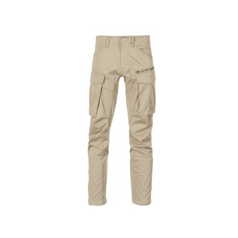 G-Star Raw ROVIC ZIP 3D STRAIGHT TAPERED men's Trousers in Beige