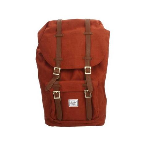 Herschel OS LITTLE AMER men's Backpack in Red