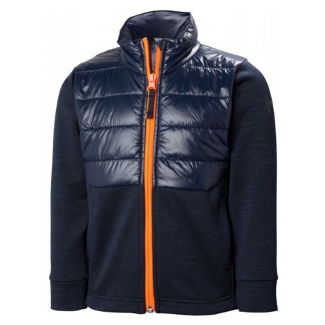 Helly Hansen K BOUNDARY FLEECE JACKET blue - Kids' jacket