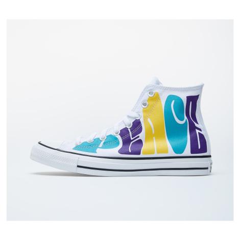 Converse Chuck Taylor All Star White/ Purple