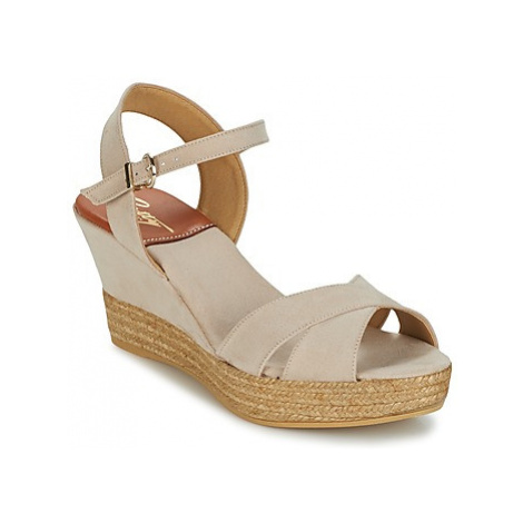 Betty London TECHNO women's Sandals in Beige