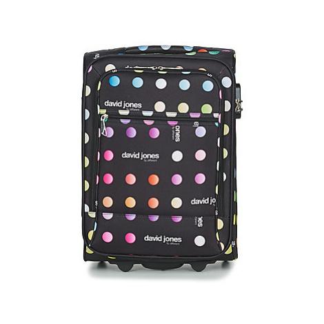 David Jones CASILO 41L men's Soft Suitcase in Black