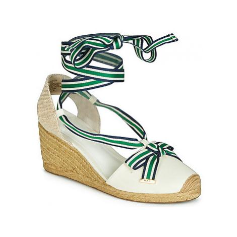 Lauren Ralph Lauren HOLLIE women's Espadrilles / Casual Shoes in White
