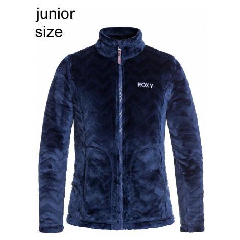 sweatshirt Roxy Igloo Zip - BTK2/Medieval Blue Aztec Cut - girl´s