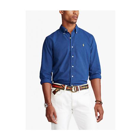 Polo Raplh Lauren Cotton Shirt, Annapolis Blue Ralph Lauren