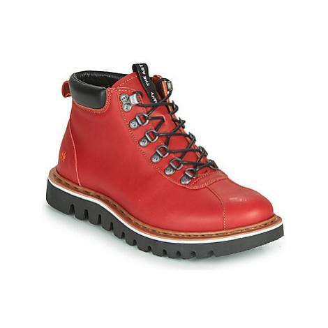 Art TORONTO women's Mid Boots in Red