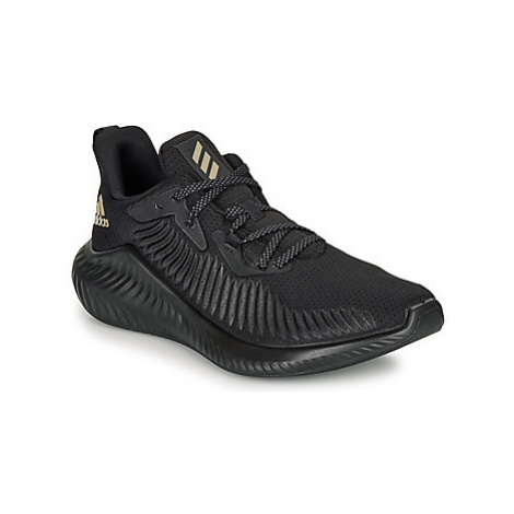 Adidas ALPHABOUNCE+ W women's Shoes (Trainers) in Black