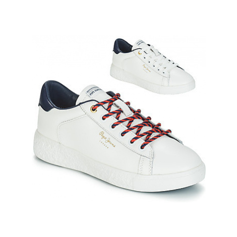 Pepe jeans ROXY PREMIUM women's Shoes (Trainers) in White