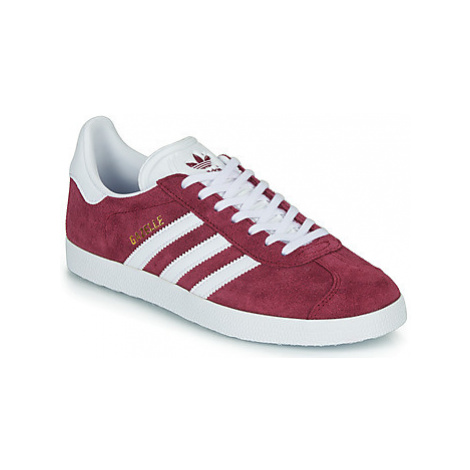 Adidas GAZELLE women's Shoes (Trainers) in Bordeaux