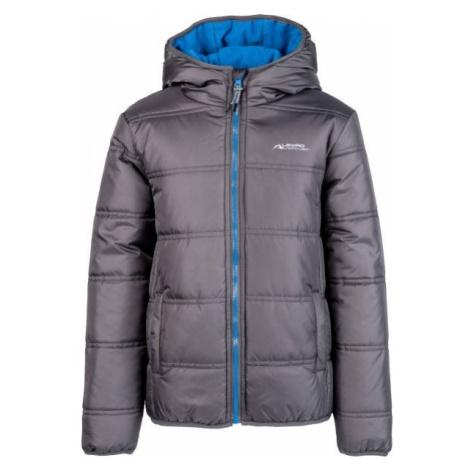 Lewro LORENZO dark gray - Kids' quilted jacket