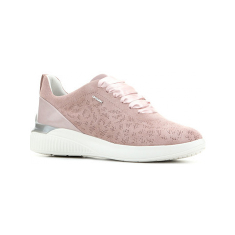 Geox D Theragon C D828SC 022BC C8056 women's Shoes (Trainers) in Pink