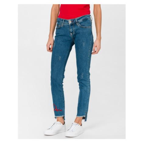 Philipp Plein Alba Porst Jeans Blue