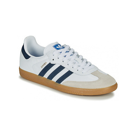 Adidas SAMBA OG men's Shoes (Trainers) in White