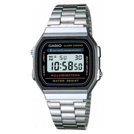 Unisex Casio Classic Alarm Chronograph Watch A168WA-1YES