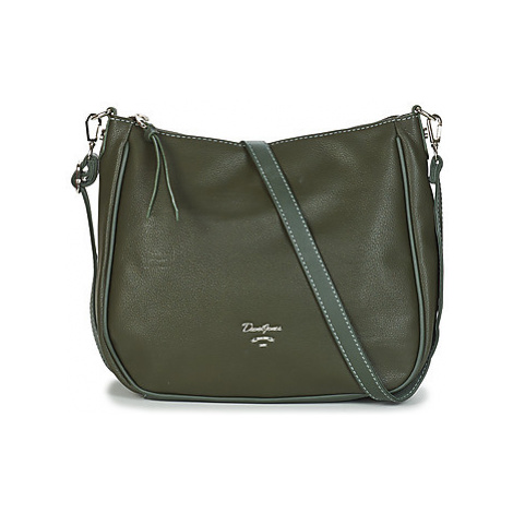 David Jones CM5465-KHAKI women's Shoulder Bag in Green