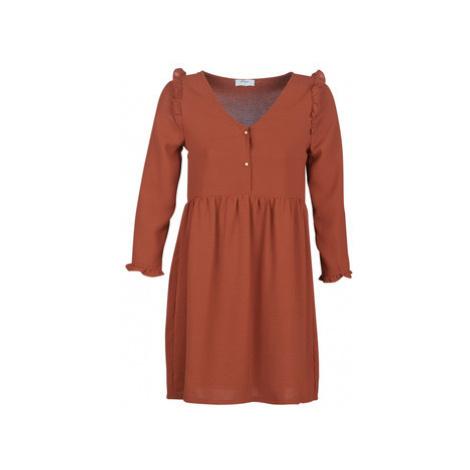 Betty London JABALA women's Dress in Brown