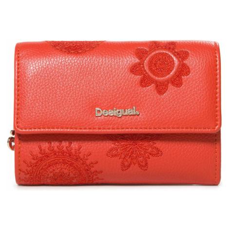 Desigual Dark Amber Alba Wallet Red