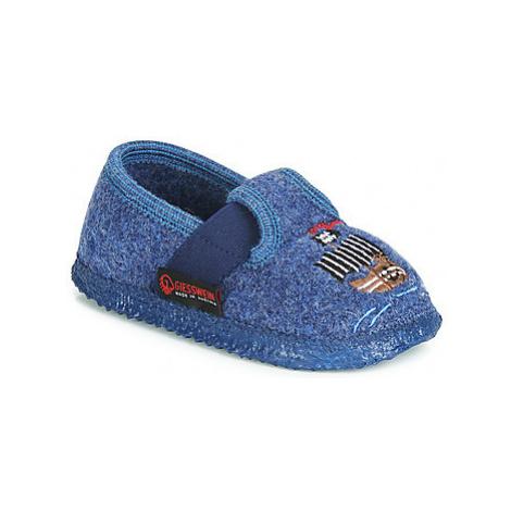Giesswein THALE boys's Children's Slippers in Blue