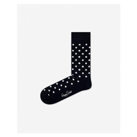 Happy Socks Dot Socks Black White