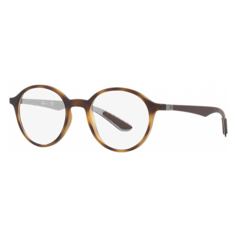 Ray-Ban Rb8904 Man Optical Lenses: Multicolor, Frame: Brown - RB8904 5200 50-20