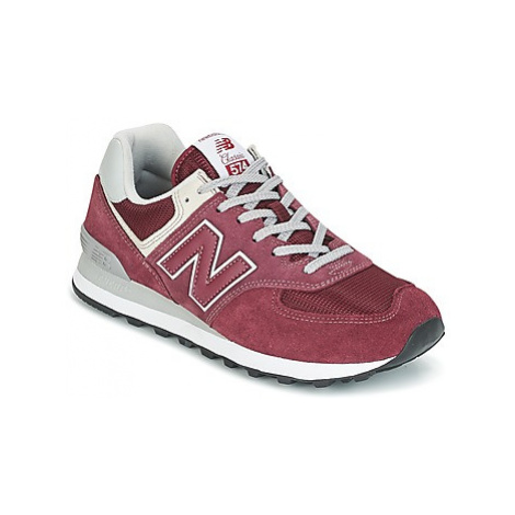 New Balance ML574 women's Shoes (Trainers) in Bordeaux